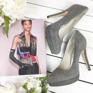 Michael Kors Gray Suede High Heels